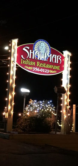Shalimar of India north Conway